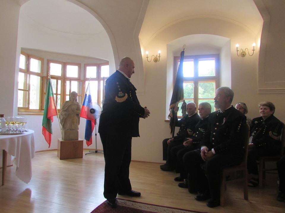 Prijatie u primátora Pezinka k 680 výročiu Pezinského baníctva.